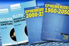 Astrology books, ebooks and ephemeris