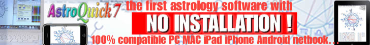 AstroQuick 7 astrology software for Mac PC WEB