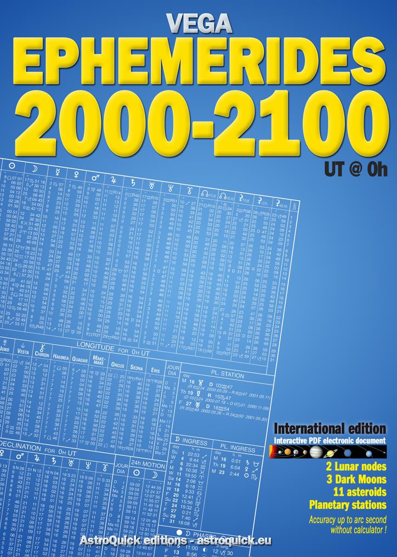 Ephemerides 2000-2100 at 0 hour Astrological Ephemeris Tables by